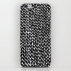 Hand Knitted Black S iPhone & iPod Skin