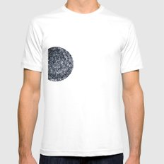 Black hole sun Mens Fitted Tee SMALL White