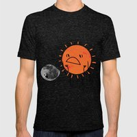 Ultimate Mooning Mens Fitted Tee Tri-Black SMALL