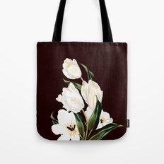 White Tulipa Tote Bag