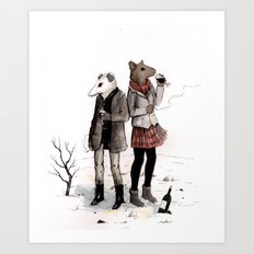 Snowpocalypse Art Print