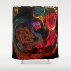 Invisible Walls Shower Curtain