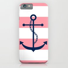 Anchor and Wide Stripes iPhone 6s Slim Case