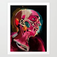 Anatomy Gautier Art Print
