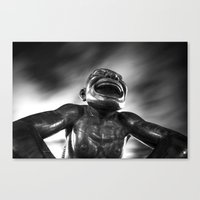 Laughing Face Canvas Print