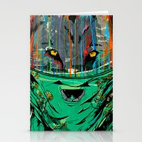 Wolf Mother - Screen Print Edition  Stationery Cards