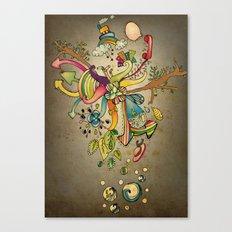 Another Strange World Canvas Print