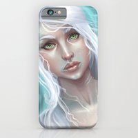 iPhone & iPod Case featuring Koi Maid by Melanie Coutavas