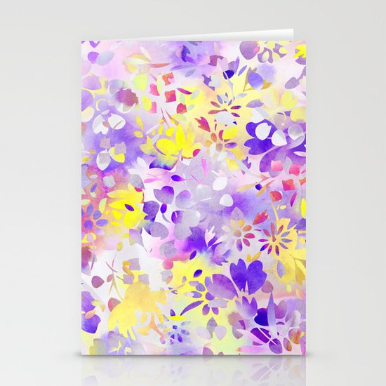 Floral Spirit 2 Stationery Card