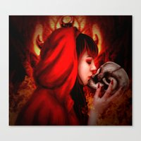 Hell's Kiss Canvas Print