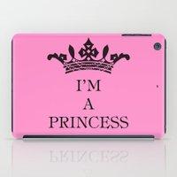 I'm a princess II iPad Case