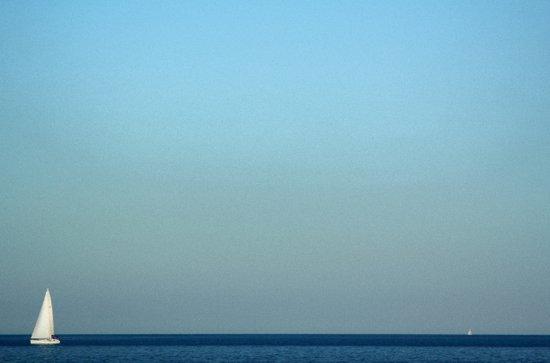 Mediterranean Sailboats Art Print
