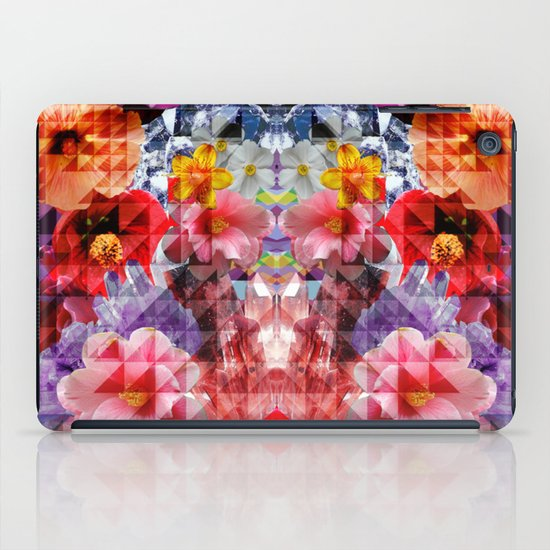Crystal Floral iPad Case