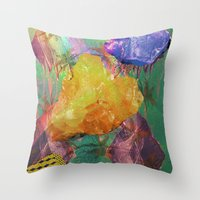 Minerals, Minerals Throw Pillow