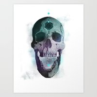 Ājňā - The Summoning Art Print