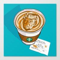 Trumpkin Spice Latte Canvas Print
