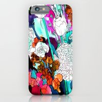 iPhone & iPod Case featuring forest flowers 3 by Marcella Wylie