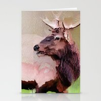 One Stag Stationery Cards