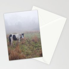 Black and White Horse Stationery Cards