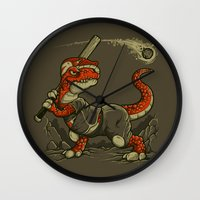 WAITING FOR THE ASTEROID… Wall Clock