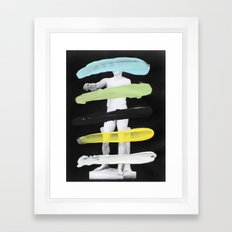 Untitled (Finger Paint 8) Framed Art Print