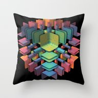 Together, Separately Throw Pillow