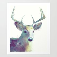 Whitetail No. 2 Art Print