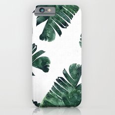 Banana Leaf Watercolor Pattern #society6 iPhone 6s Slim Case