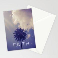 Palm Tree Faith Stationery Cards