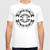 DJ Warped II Mens Fitted Tee White SMALL