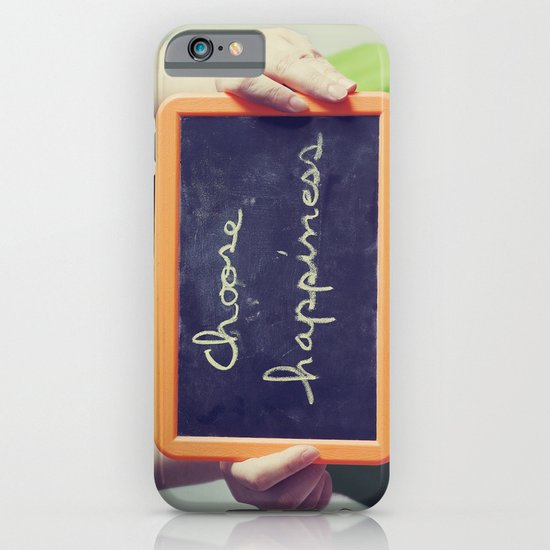 Choose Happiness iPhone & iPod Case