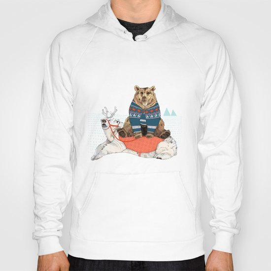 Bear Sleigh Hoody