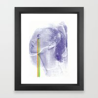 Lacryma Color 3 Framed Art Print