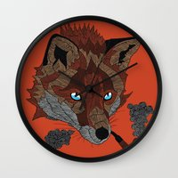 FOX&PIPE Wall Clock