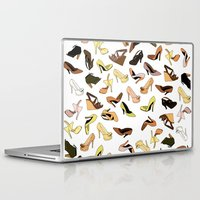 shoes Laptop & iPad Skins featuring Shoes by Jeanne Bornet