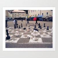Check Mate (Austria) Art Print