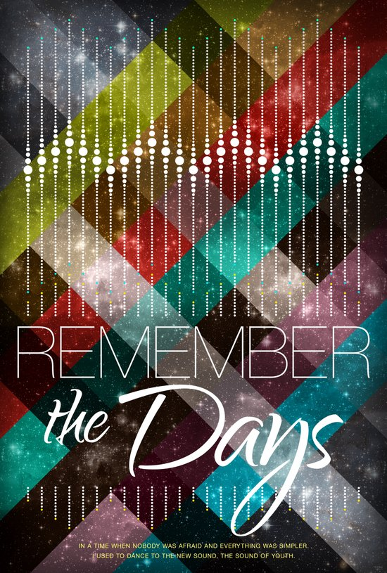 Remember the days Art Print