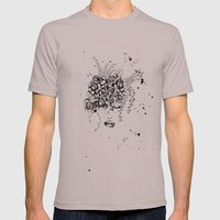 Roses Mens Fitted Tee Cinder SMALL