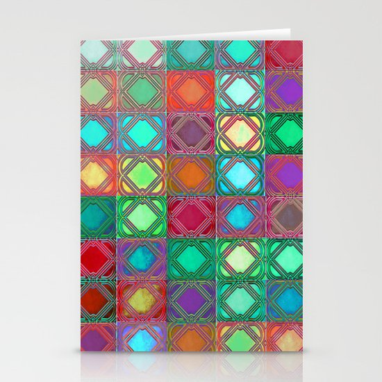 The Colors of Love Stationery Card