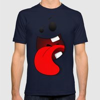 Faces V3 Mens Fitted Tee Navy SMALL