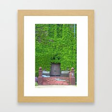 Mary Manse Doors - vertical Framed Art Print