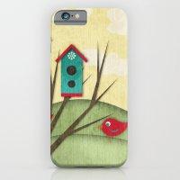 Shabby Sweet Tweet On Th… iPhone 6 Slim Case