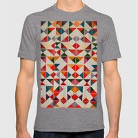 Loudcolors Mens Fitted Tee Tri-Grey SMALL