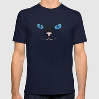 Little Black Cat Mens Fitted Tee Navy SMALL