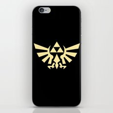 Zelda Triforce iPhone & iPod Skin