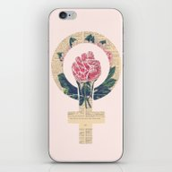 Respect, Equality, Women… iPhone & iPod Skin