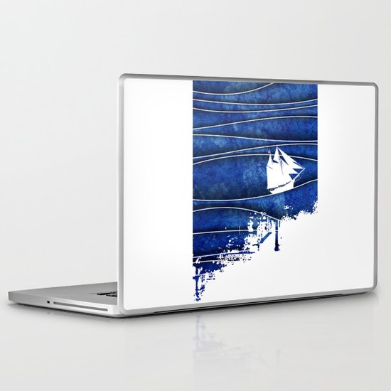 The Lonely Sea Laptop & iPad Skin
