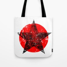 Circle and star Tote Bag