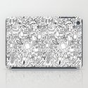 Infinity Robots Black & White iPad Case