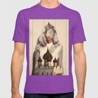 quatre Mens Fitted Tee Ultraviolet SMALL